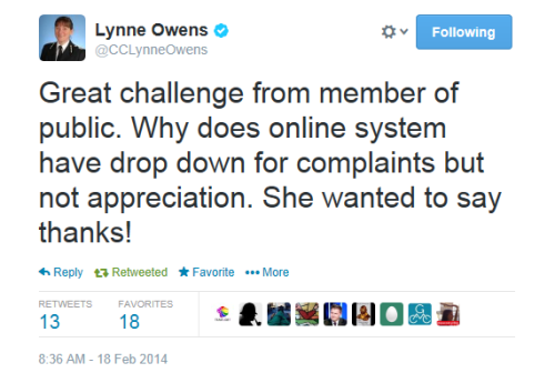 Lynne Owens tweet