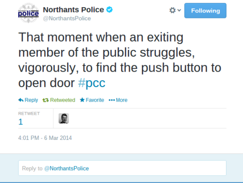 Northants Police tweet 2a