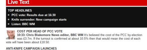 BBC West Mids live 1039