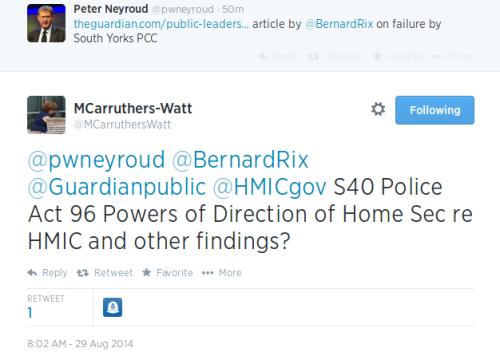 Miranda Carruthers-Watt tweet