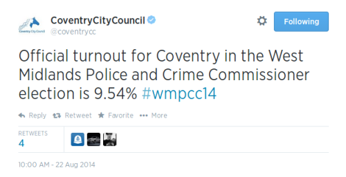 Tweet CoventryCC 1000
