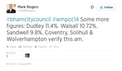 Tweet Mark Rogers 0817