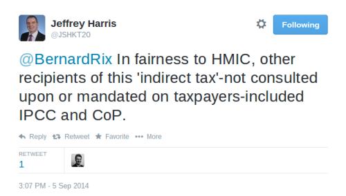 Jeff Harris re precept 2
